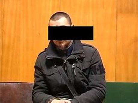 Один з ґвалтівників. Кадр з відеозапису