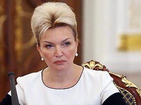 Міністр охорони здоров'я Раїса Богатирьова