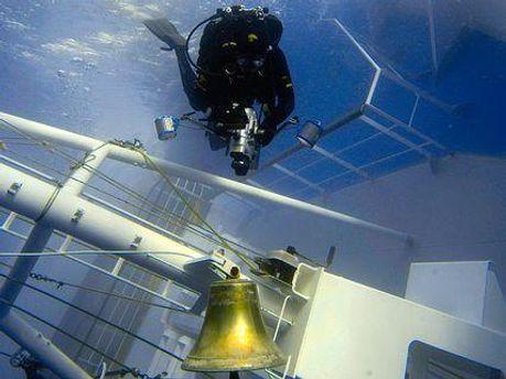 Дзвін з Costa Concordia