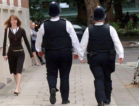 64% лондонських поліцейських потерпають від зайвої ваги