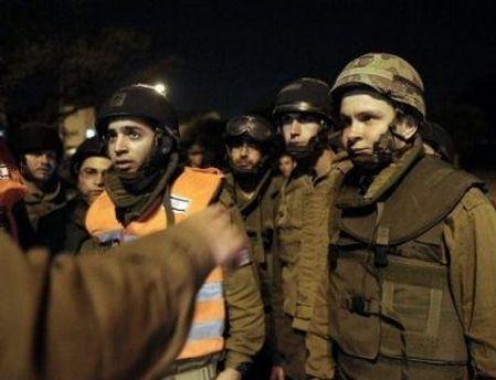 Новобранцы израильской армии