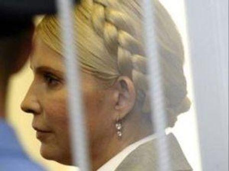 Юлия Тимошенко смотрела футбол в колонии