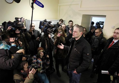 Сергій Удальцов після оголошення рішення суду