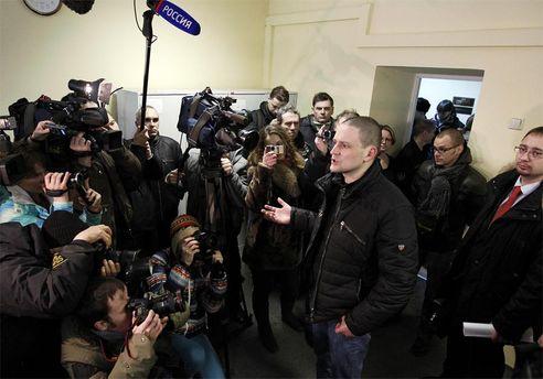 Сергей Удальцов после оглашения решения суда
