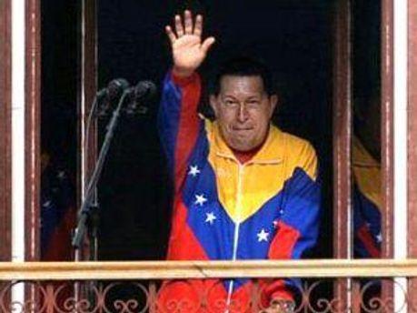 Уго Чавес повернувся додому