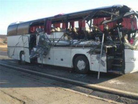 Жертвами аварії стали пасажири автобуса