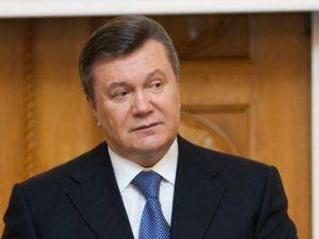 Віктор Янукович відвідає Росію