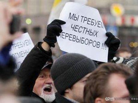 Опозиціонери проводять мітинги щомісяця 31 числа