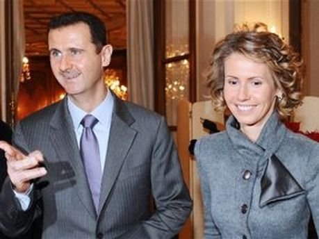 Башар Асад з дружиною Асмою