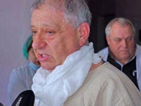 Руководитель Донецкого ожогового центра Эмиль Фисталь