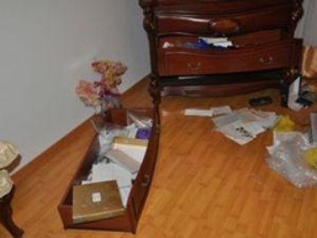 В доме Ирины Сех после погрома