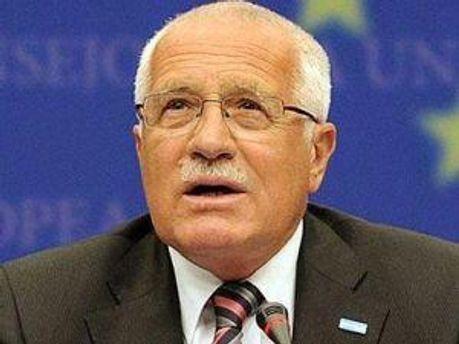 Президент Чехії  Вацлав Клаус