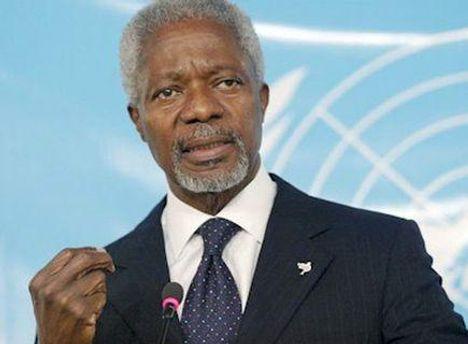 Россия согласилась с предложениями Кофи Аннана