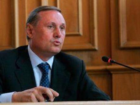 Лидер фракции Партии регионов Александр Ефремов