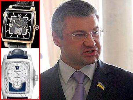 Сергій Міщенко та його годинники