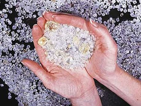 У валізі виявили 1,7 кг алмазів