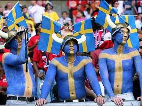 Шведские фаны