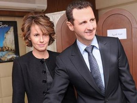 Башар Асад с женой Асмой