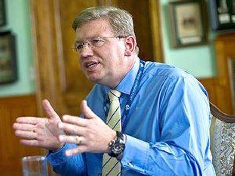Еврокомиссар по вопросам расширения и европейской политики соседства Штефан Фюле