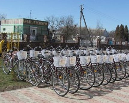 Велосипеди від фонду Литвина