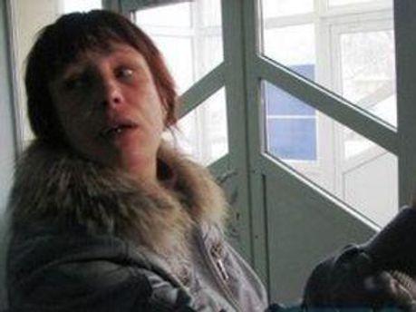 Мати постраждалої Оксани Макар Тетяна Суровицька