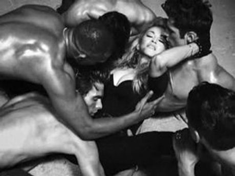 Кадр з кліпу Мадонни