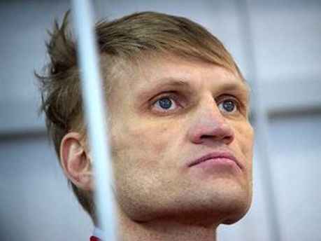 Заключенный оппозиционер Сергей Коваленко