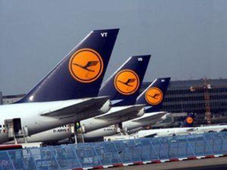 Самолеты компании Lufthansa
