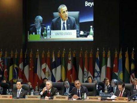 Мировые лидеры на саммите в Сеуле