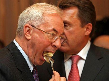 Николай Азаров не ест продукты, которые производит население