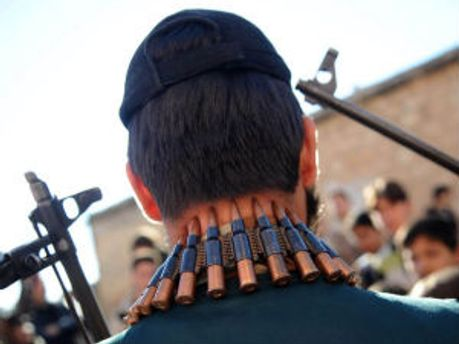 Вооруженный сирийский оппозиционер