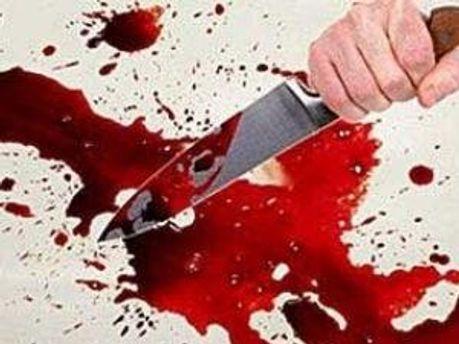 Чоловік зарізав жертву ножем