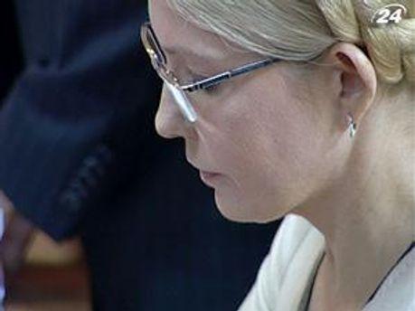 Экс-премьер министр Украины Юлия Тимошенко