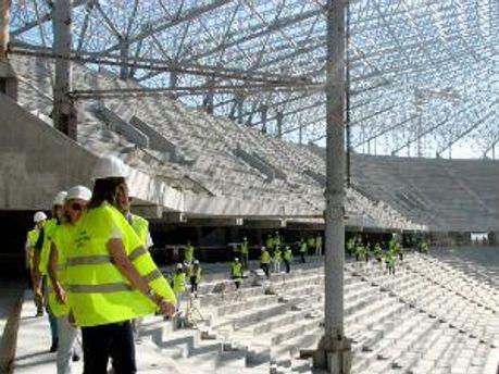 Один з об'єктів до ЄВРО-2012