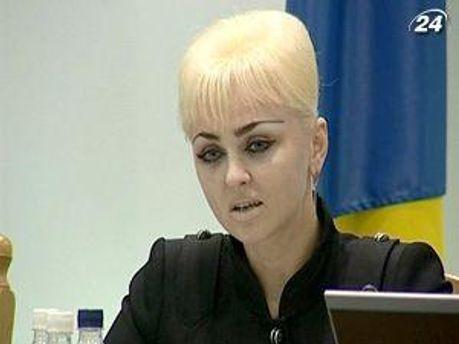 Заместитель председателя ЦИК Жанна Усенко-Черная