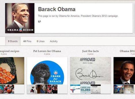 Сторінка Барака Обами