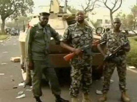 Военные в Мали