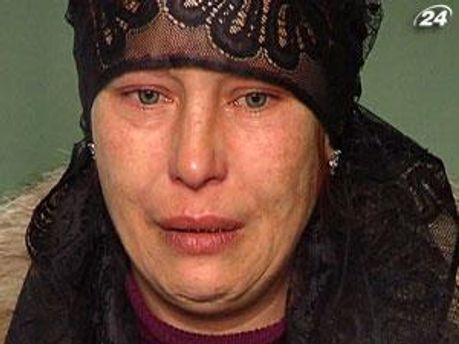 Мать Оксаны Макар Татьяна Суровицкая
