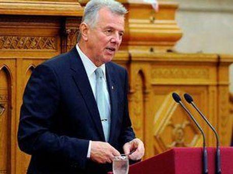 Президент Венгрии Пал Шмитт