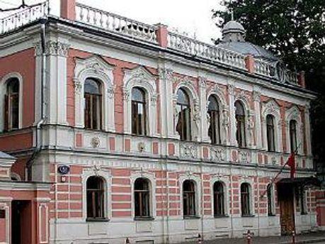 Здание посольства Марокко в Москве