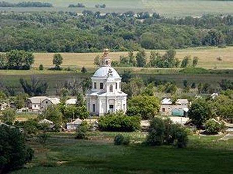 Свято-Успенский собор в селе Осиновое
