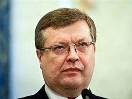 Министр иностранных дел Украины Константин Грищенко