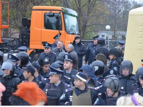 Милиция в Первомайске