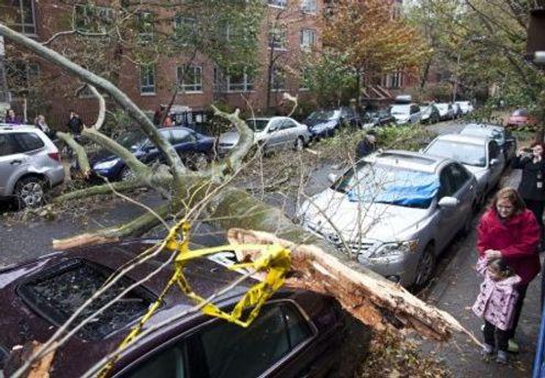 Последствия урагана Сэнди в Нью-Йорке