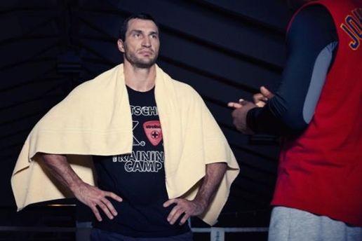 Володимир Кличко готується до бою