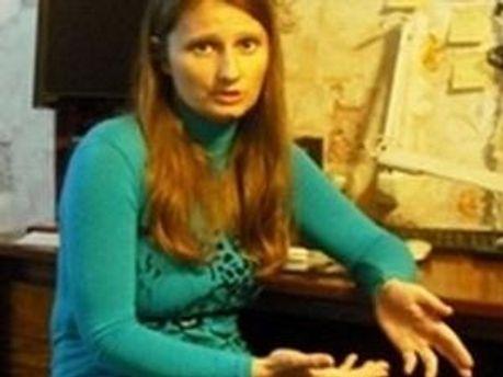 Жена Ярослава Мазурка