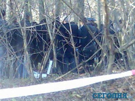 Фото з місця вбивства Мазурка