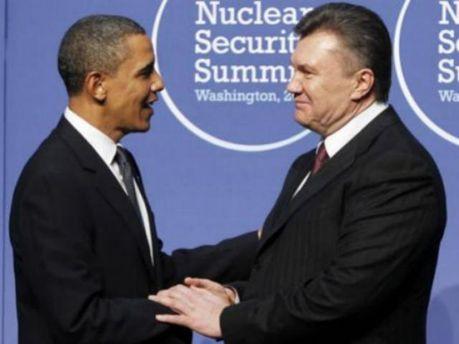Виктор Янукович и Барак Обама