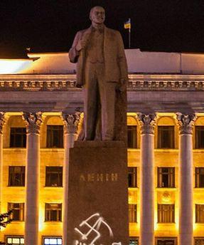 Пам'ятник Володимиру Леніну в Житомирі