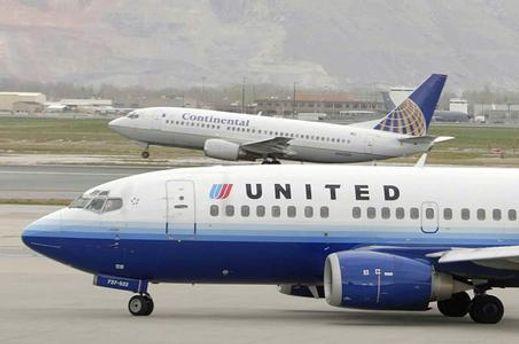 Літак компанії United Airlines